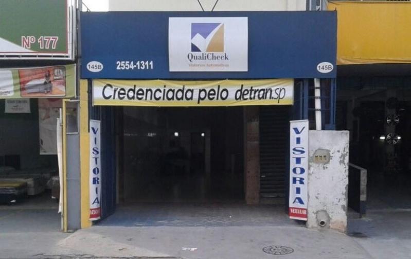 Vistoria Cautelar DETRAN Preço Vila Brasil - Vistoria Cautelar Veicular Reprovado
